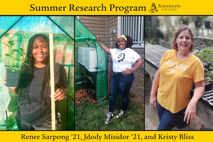 Summer Research 2020 - Renee Sarpong, Jdody Misidor, and Kristin Bliss