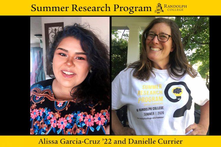 Summer Research 2020 - Danielle Currier