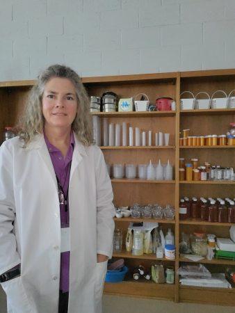 Angela Beasley, the winner of the inaugural Science Teaching Award from Randolph (STAR)