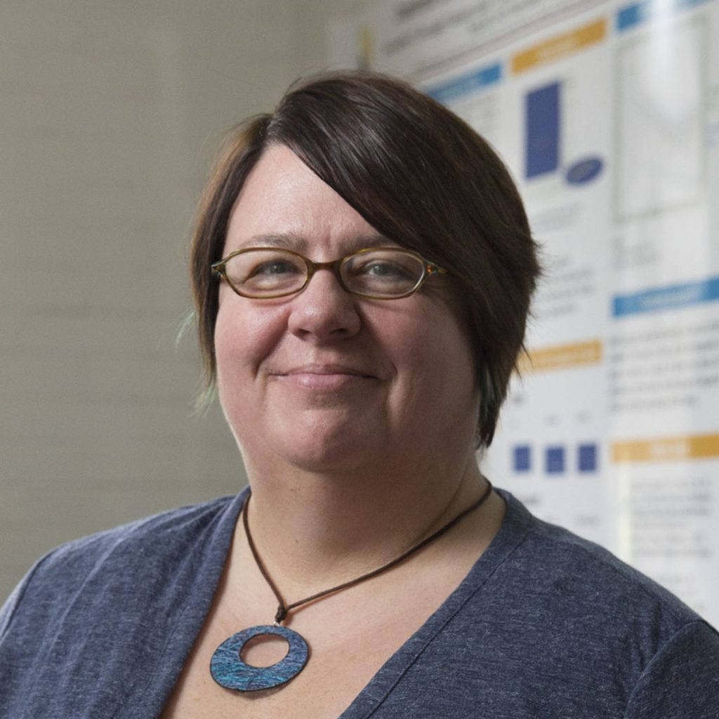 Katrin Schenk, associate professor of physics at Randolph College