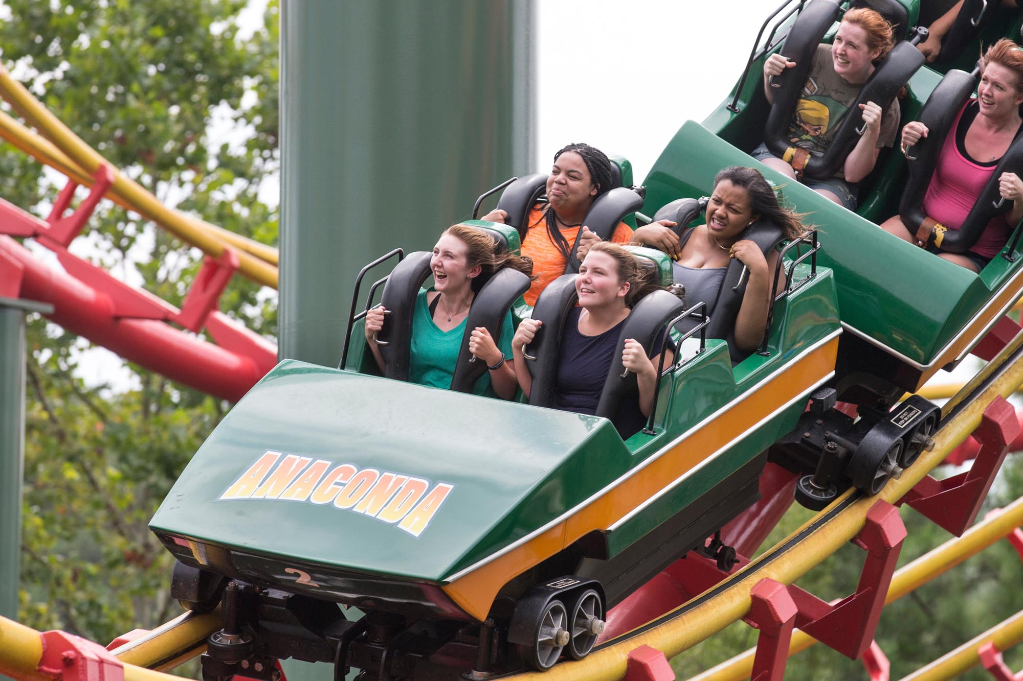 Randolph College students study the physics of rollercoasters