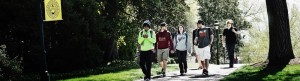 Banner Image - students walking to class