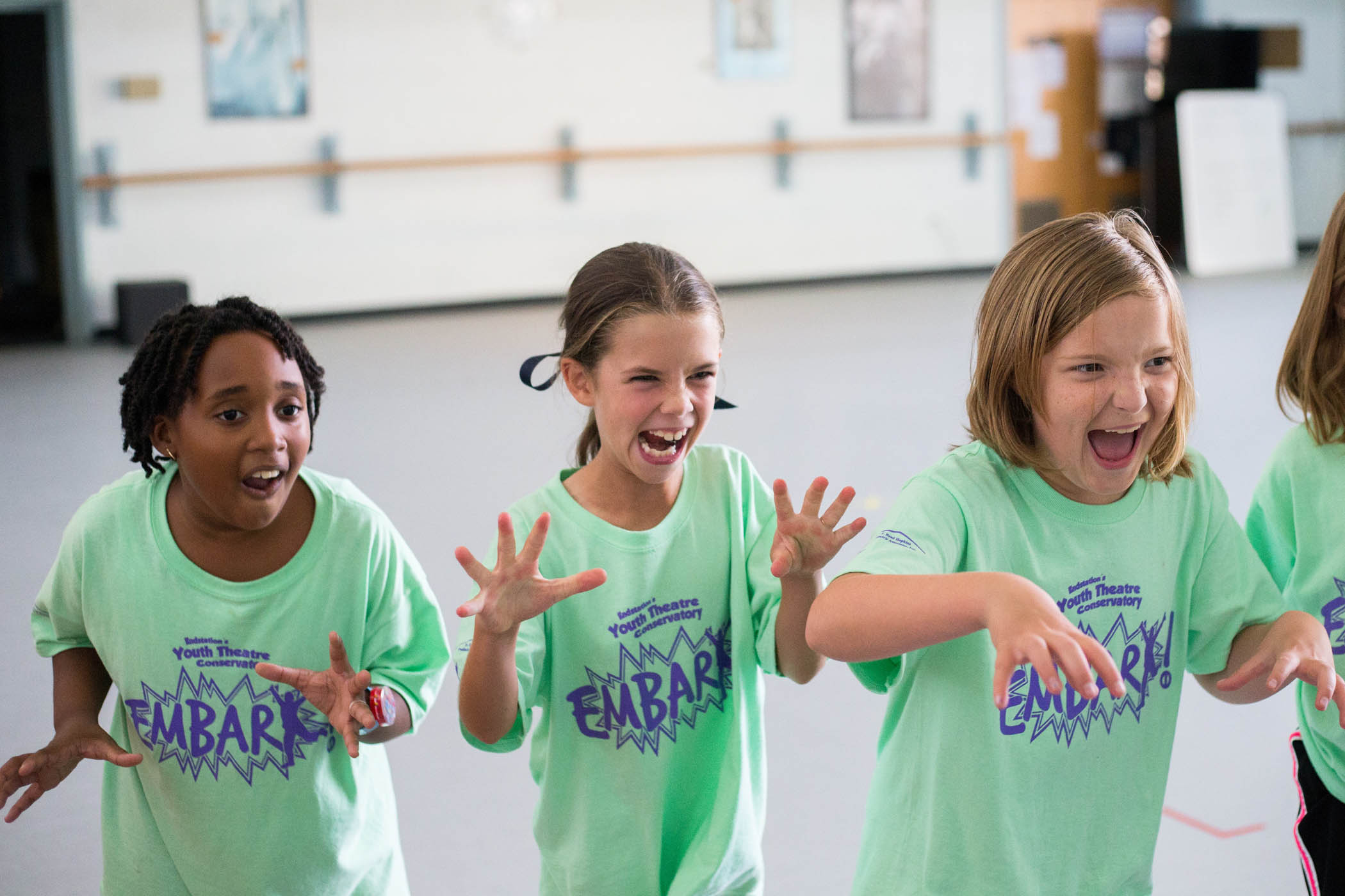 Embark Conservatory provides theatre training for local children in 3rd-12th grades.