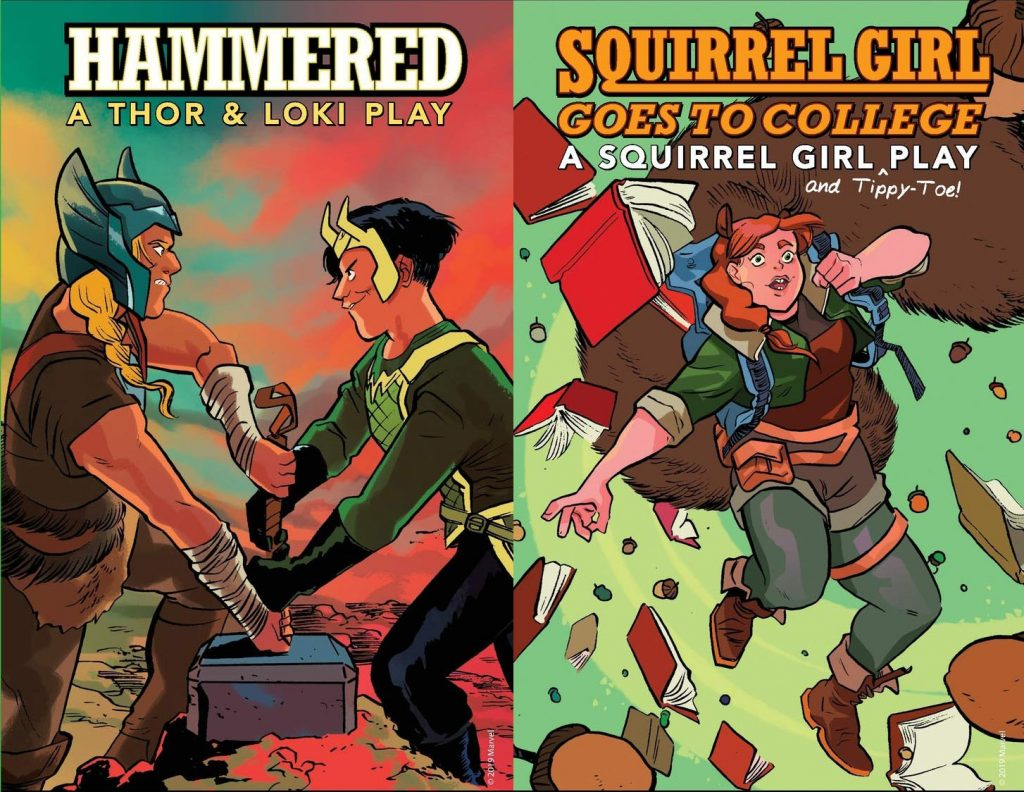 Hammered - A Thor and Loki Play, Squirrel Girl Goes to College